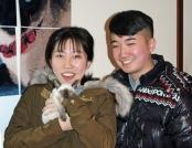 Xinye and Tuna - Akron , OH